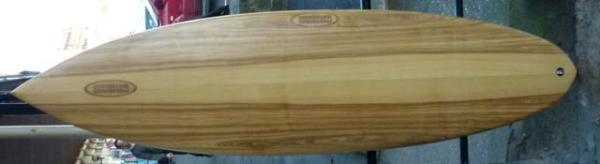 65 Grrrgh wood laminate thruster